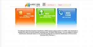 MSIC Codes
