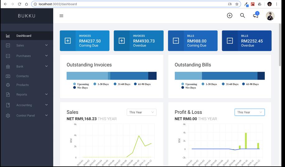Bukku Accounting Software Malaysia